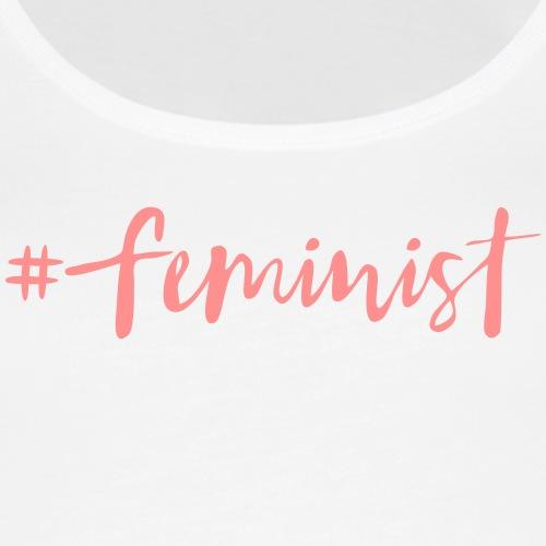 feminist - Women's Premium Tank Top