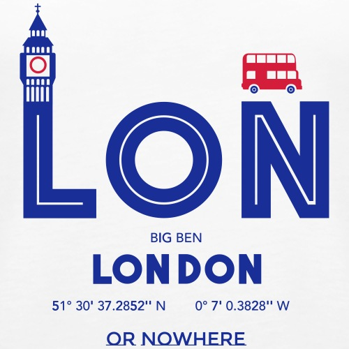 Londra o mai più? - Canotta premium da donna