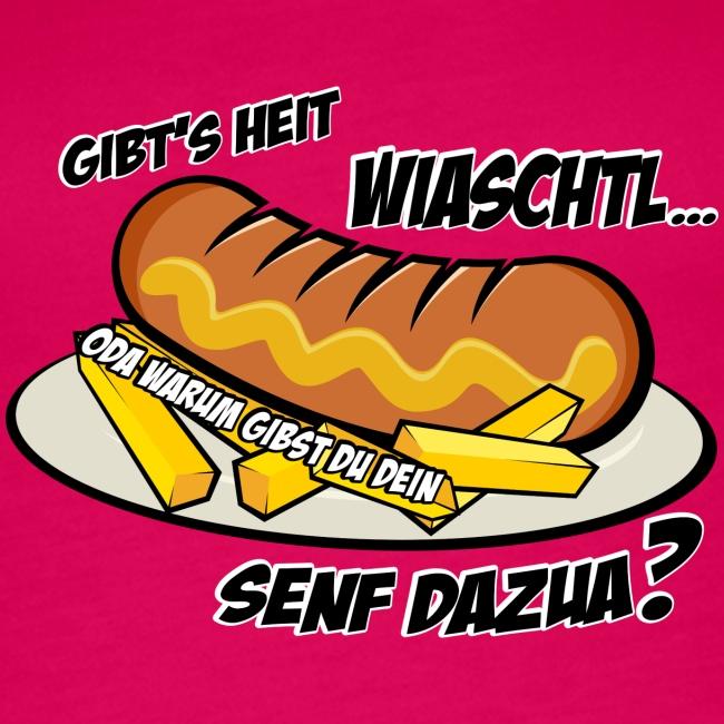Vorschau: Wiaschtl mit Senf - Frauen Premium Tank Top