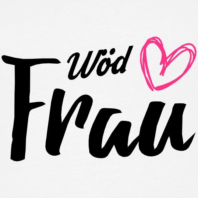 Vorschau: Wöd Frau - Frauen Premium Tank Top