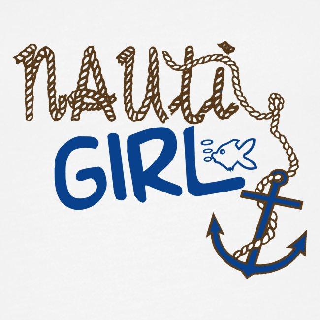 Nauti Girl Nautical Boat Shirt