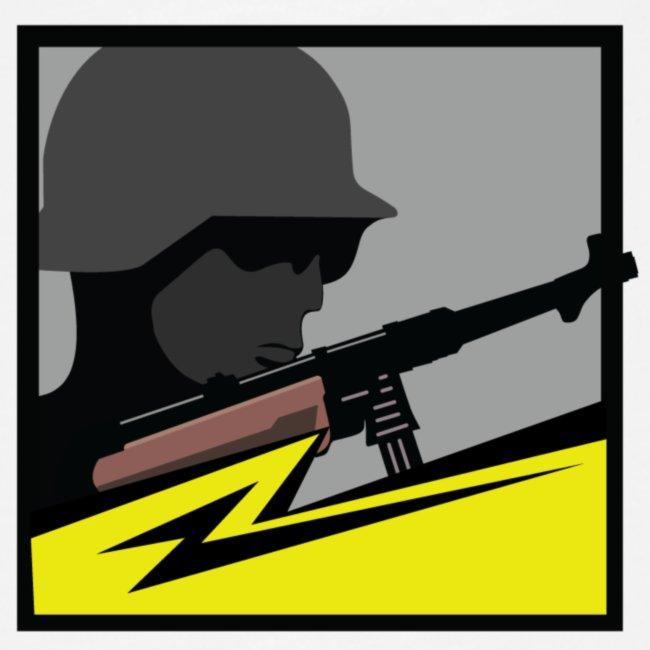 Mp40 german soldier gun maschinenpistole 40