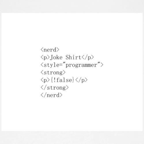 Computing Joke - Wrong Syntax - Women's Premium Tank Top