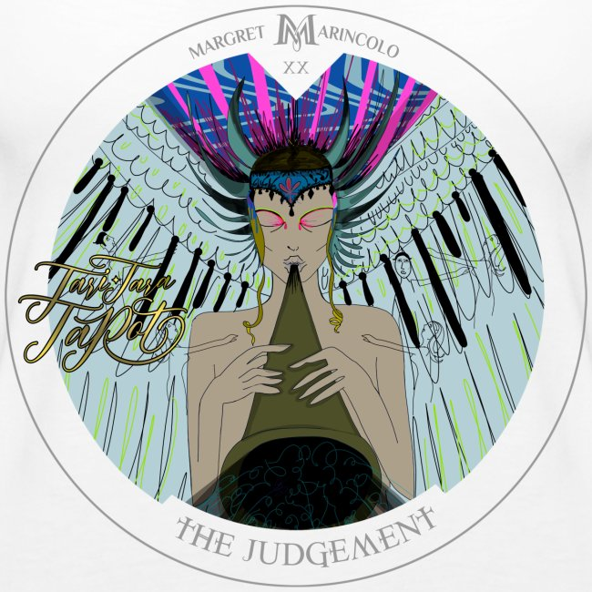 The Judgement   Das Gericht Tarot Karte rund