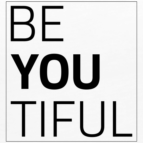 BE YOU TIFUL - Women's Premium Tank Top
