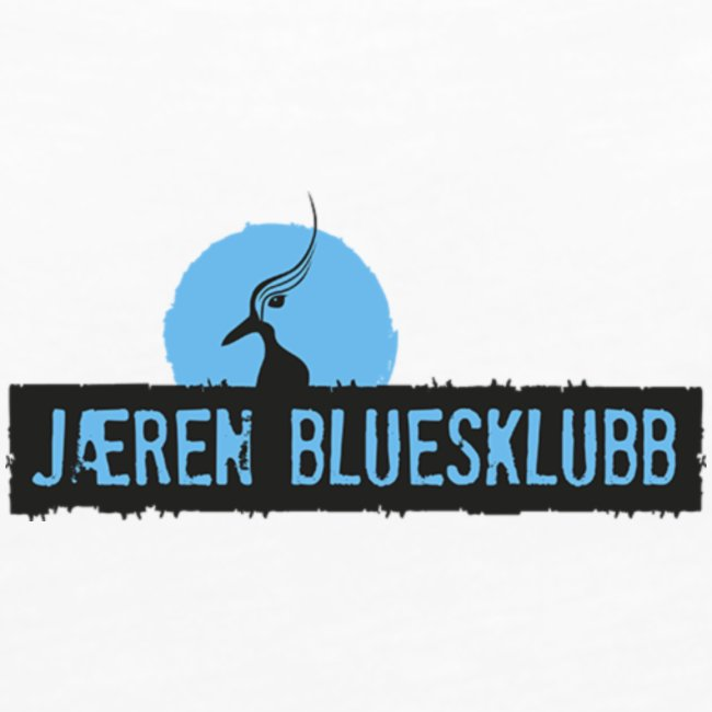 Logo jæren bluesklubb 500px png