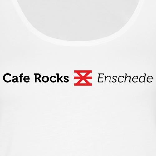 Cafe Rocks Enschede - B - Vrouwen Premium tank top
