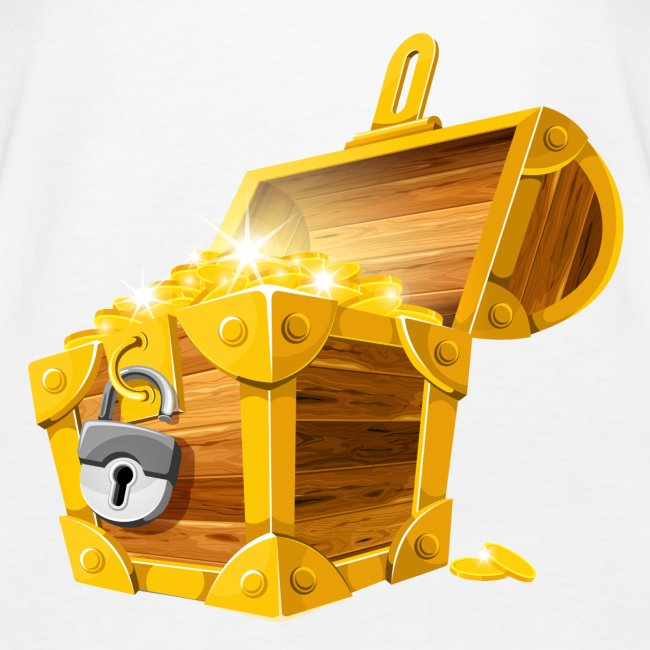 Gold Coins Treasure Chest PNG Clipart Picture png