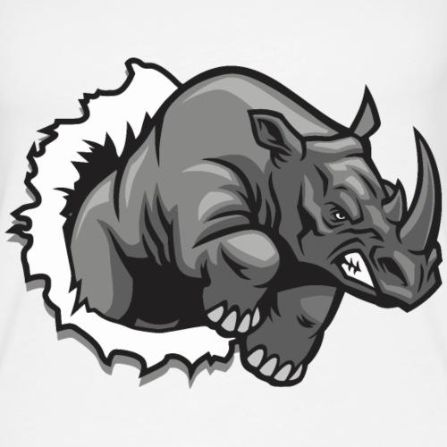 Méchant rhinocéros - Débardeur Premium Femme