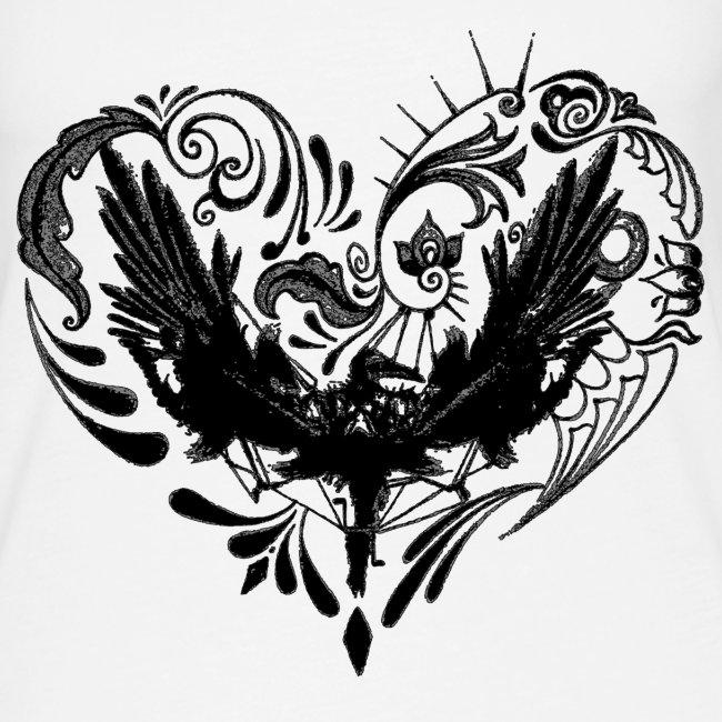 hjertefuglsvart png