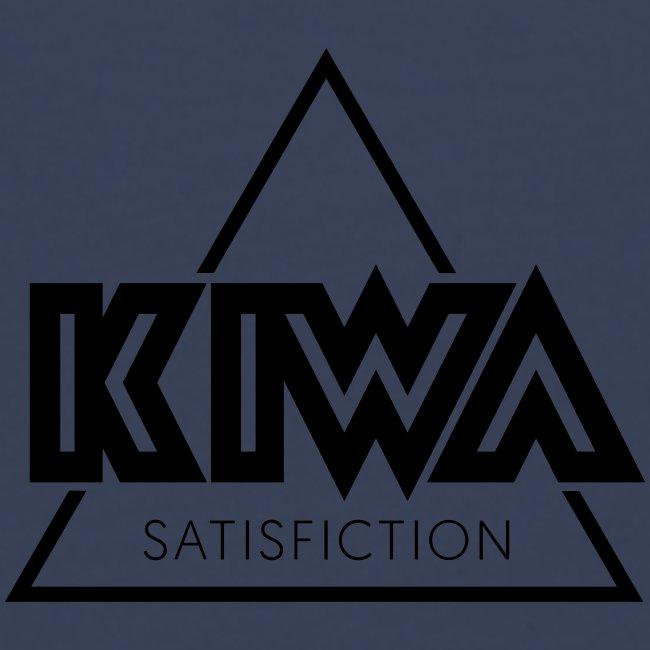 KIWA Satisfiction Black (Back Print)