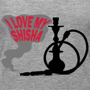 I LOVE MY SHISHA! - Premium singlet for kvinner