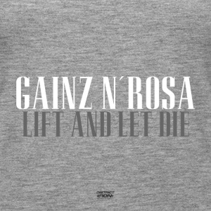 Gainz n'Rosa - Lift i niech Shirt Girl Power - Tank top damski Premium