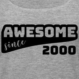 Awesome since 2000 / Birthday-Shirt - Women's Premium Tank Top