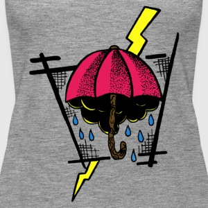 umbrella - Women's Premium Tank Top
