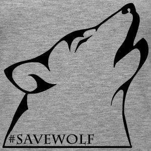 #SaveWolf - Women's Premium Tank Top