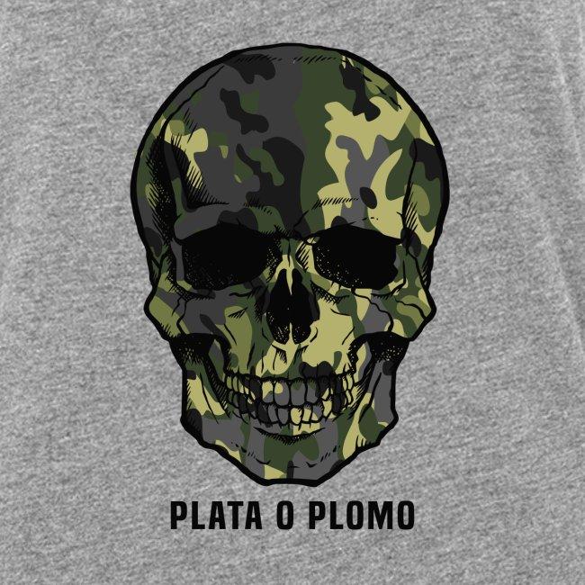 Colombian skull - plata o plomo