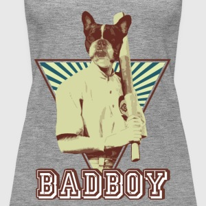 French bulldog bully Sports Baseball - Women's Premium Tank Top