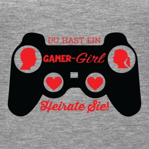Gamer Girl - Heirat - Frauen Premium Tank Top