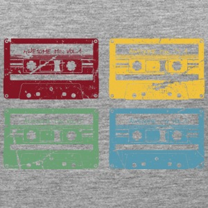 RETRO CASSETTE SET - Women's Premium Tank Top
