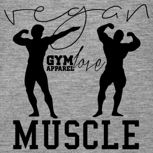 Vegan Muscle (Black // Sportkollektion) - Frauen Premium Tank Top