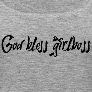 God bless girlboss - Women's Premium Tank Top