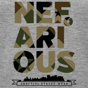 Nefarious Military Street Wear - Premium singlet for kvinner