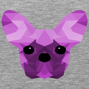 French Bulldog Low Poly Design lilac - Women's Premium Tank Top