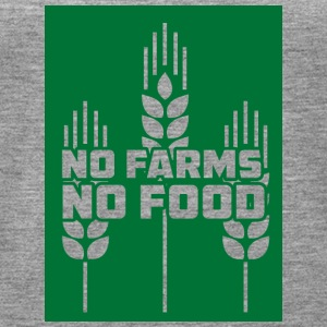 Farmer / Farmer / Farmer: No Farms, No Food - Women's Premium Tank Top