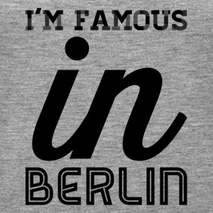 im famous in berlin - Women's Premium Tank Top