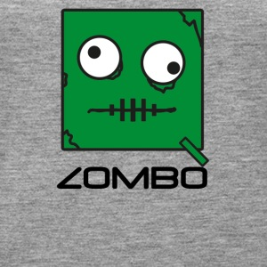 Zombie 'Zombo' Monster | Qbik Design Series - Vrouwen Premium tank top