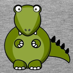 Funny Animals T Shirt Motif Dinosaurs - Women's Premium Tank Top