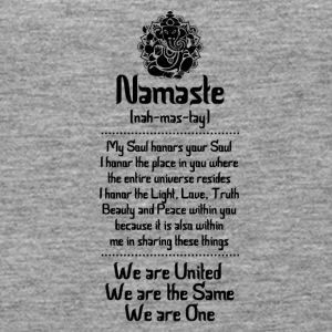 NAMASTE | WE ARE ... - Women's Premium Tank Top