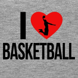 I LOVE BASKETBALL - Women's Premium Tank Top