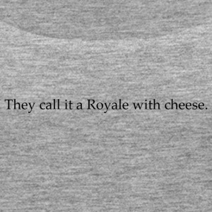 Royal with cheese - Women's Premium Tank Top