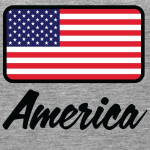 National Flag Of USA - Dame Premium tanktop