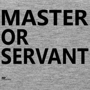 Master or Servant - Women's Premium Tank Top