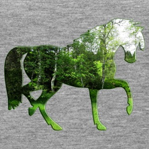 forest horse - Women's Premium Tank Top