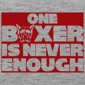 Dog / Boxer: One Boxer Is Never Enough - Women's Premium Tank Top