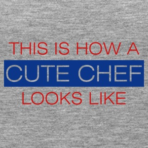 Koch / Chefkoch: This is how a cute chef looks - Frauen Premium Tank Top