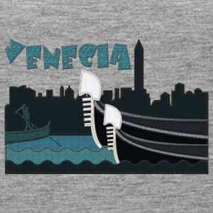 Venice in jeans - Women's Premium Tank Top