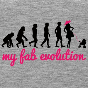 Dog / Poodle: My Fab Evolution - Women's Premium Tank Top