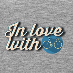 In love with cycling - Women's Premium Tank Top
