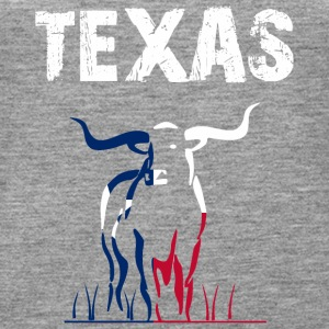 Nation-Design Texas Longhorn - Premiumtanktopp dam