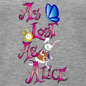 As lost as alice - Women's Premium Tank Top