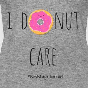 i donut care - i do not care - Women's Premium Tank Top
