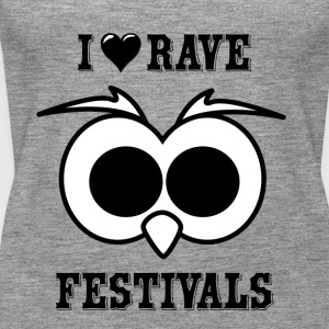I Love Rave Festivals - Frauen Premium Tank Top