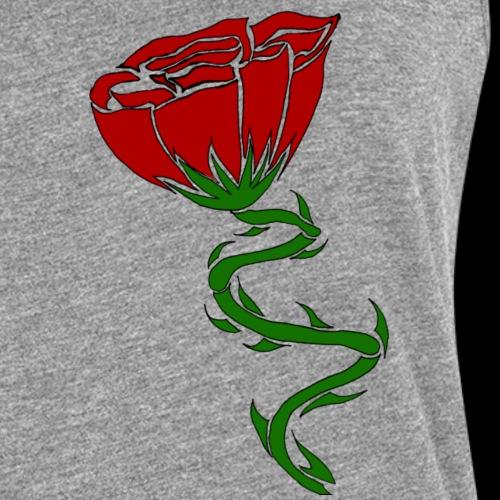 Rose - Canotta premium da donna