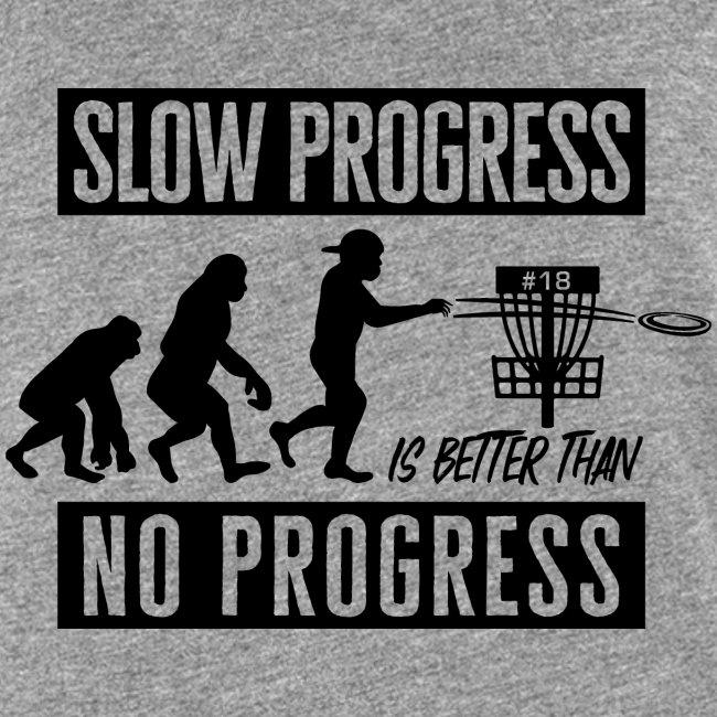 Disc golf - Slow progress - Black