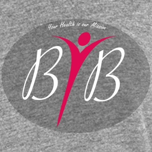 Logo BYB your health is o - Frauen Premium Tank Top